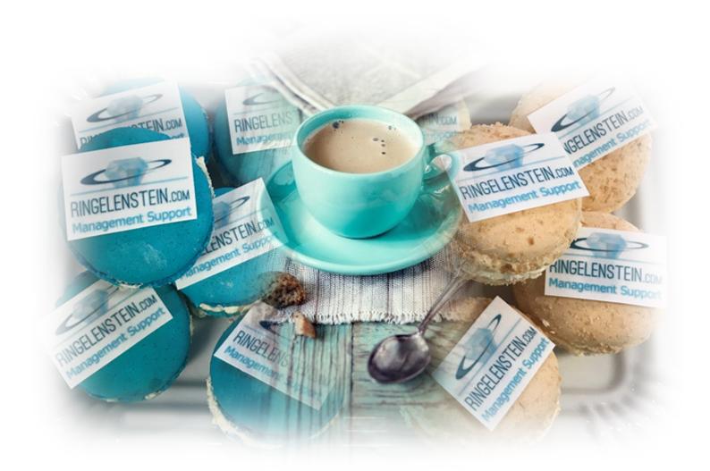 Koffie-macarons