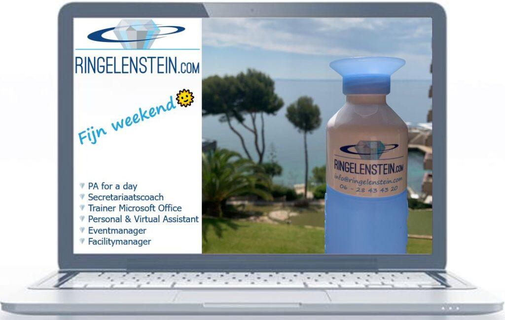 Dopper met logo Ringelenstein.com